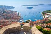 View of Hvar — Stock Photo