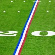 Royalty-Free Stock Photo: Twenty-yard line
