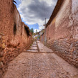 Inca fortress — Stock Photo