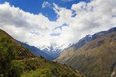 Peruánských andách — Stock fotografie