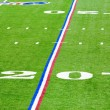 Twenty-yard line — Stock Photo