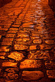 Shining Cobblestones — Stock Photo