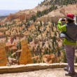 Bryce Canyon Tourist — Stock Photo