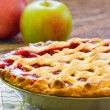 Royalty-Free Stock Photo: Homemade Cherry Pie