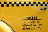 Auburn Taxi Cab — Stock Photo