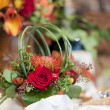 Foto Stock: Floral Centerpiece