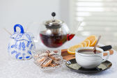 Ora del tè — Foto Stock