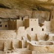 Indian ruins at Mesa Verde — Stock Photo