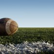 Football and Field — Stock Photo #4040267