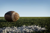 Football and Field — Stock Photo