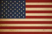 Grunge American Flag Background — Stock Photo
