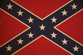 Grunge Confederate Flag Background — Stock Photo