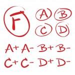 矢量手绘制的成绩 — 图库矢量图片