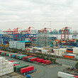 Container terminal — Stock Photo #4154115