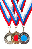 Sports medals — Stock Photo