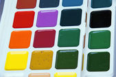 Set water colours — Stock Photo