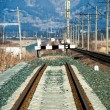 Railway deadlock — Stockfoto