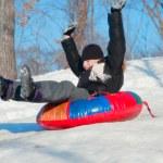 Winter Fun — Stock Photo
