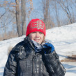 Youth In Winter — Stockfoto