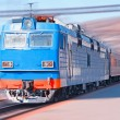 Moving Train — Stock Photo #4811537