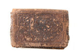 Antique Leather wallet — Stock Photo