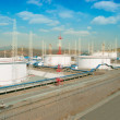 Fuel Storage Tanks — Stock Photo #5228742