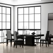 Dining room — Stock Photo #4091131
