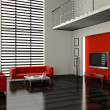 Living room 3D — Stock Photo #4611271