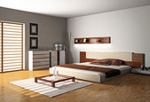 Bedroom — Stock Photo