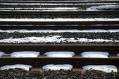 Railway tracks — Stok fotoğraf