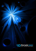 Abstract Starlight — Stock Vector