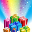 Gift boxes — Stock Vector #4155744
