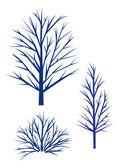 силуэт деревьев. — Cтоковый вектор