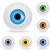 Eye balls. — Stock Vector