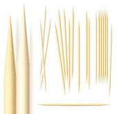 Toothpicks — Stock Vector