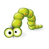 Larva Character — Stock Vector