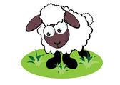 Kreskówka owiec — Wektor stockowy