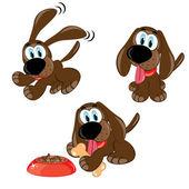 Cartoon dogs — Stock Photo