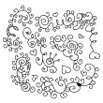 Floral design elements — Stock Vector #4915088