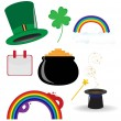 St. Patrics Icon - Stock Vector