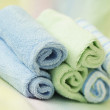 Rolls of towels — Stock Photo