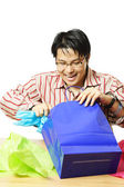 Shopping gifts — Stock Photo