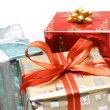 Christmas gifts - Stock Photo