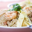Shrimp fried rice — Foto Stock