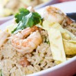 Shrimp fried rice - Stock Photo