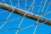Soccer field — Stock Photo