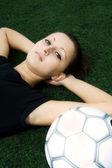 Piłkarz — Zdjęcie stockowe