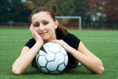Soccer player — Foto Stock