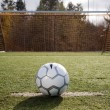 Soccer ball or football — Stock Photo