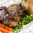 T-bone steak — Stock Photo